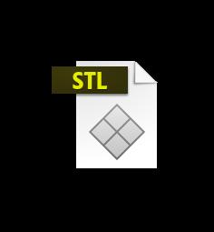 marque page fleur.stl