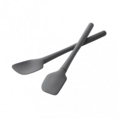 Lot de 2 mini-spatules silicone